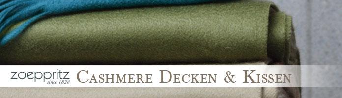 Cashmere Decken & Kissen