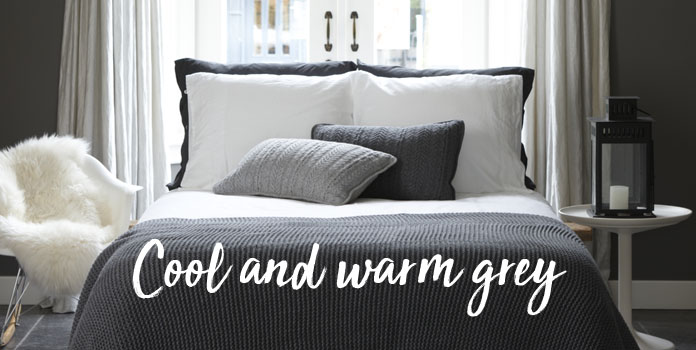 Cool and warm grey