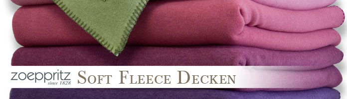 Soft Fleece Decken