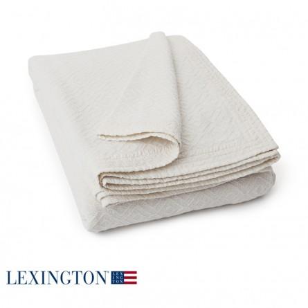 Lexington Bettüberwurf Soft weiß