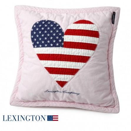 Lexington Dekokissen American Baby Quilted rosa