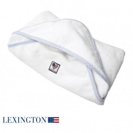 Lexington Kapuzenhandtuch American Baby blau