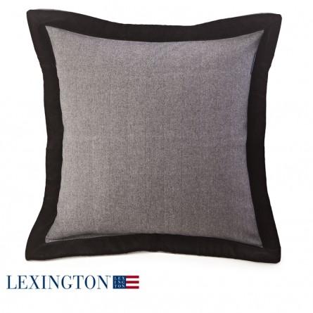 Lexington Dekokissen Contrast Edge grau