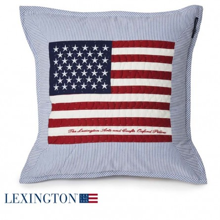 Lexington Dekokissen Arts & Crafts Star blau