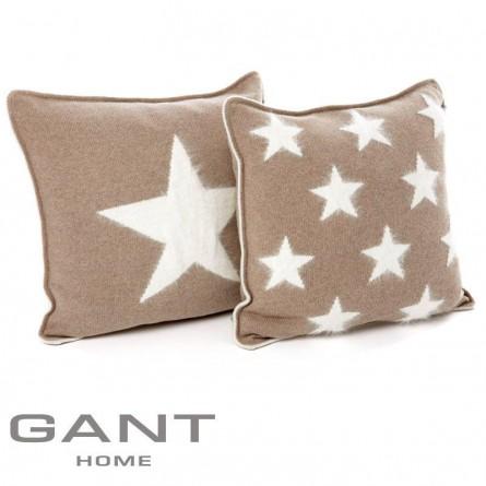 Gant Dekokissenbezug Angora Ten Star / Big Star sand