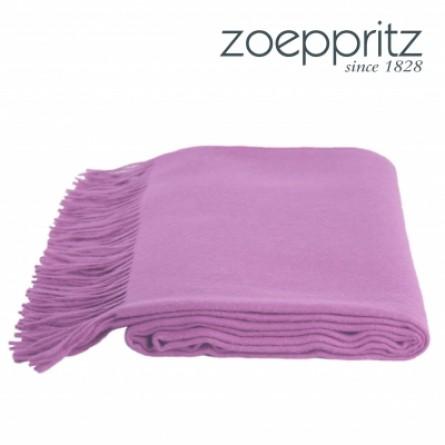 Zoeppritz Plaid Attitude lila -420 (130 x 200 cm)