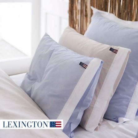 Lexington Bettwäsche Chambray blau