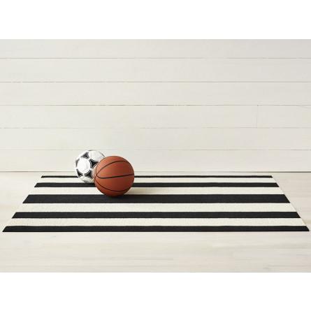 Chilewich Fußmatte Bold Stripe schwarz/weiß