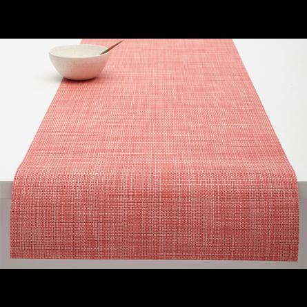 Chilewich Tischläufer Mini Basketweave guava -032 (36x183 cm)