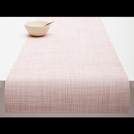 Chilewich Tischläufer Mini Basketweave blush -033 (36x183 cm)