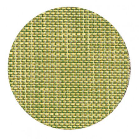 Chilewich Glasuntersetzer Set Mini Basketweave dill -008 4-er set (Ø 10 cm)