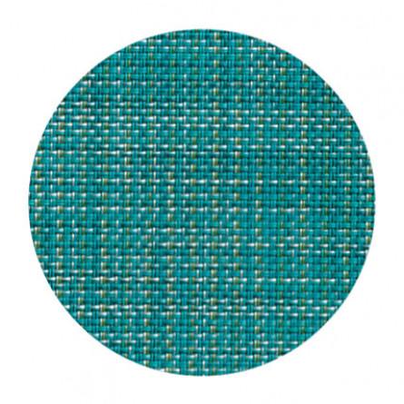 Chilewich Glasuntersetzer Set Mini Basketweave türkis -019 4-er set (Ø 10 cm)