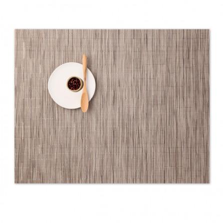Chilewich Tischset Bamboo rechteckig dune