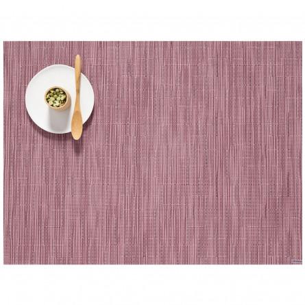 Chilewich Tischset Bamboo rechteckig rhabarber