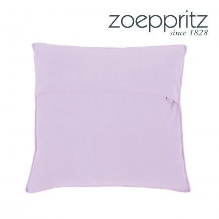 Zoeppritz Dekokissen Soft-Fleece light lavender
