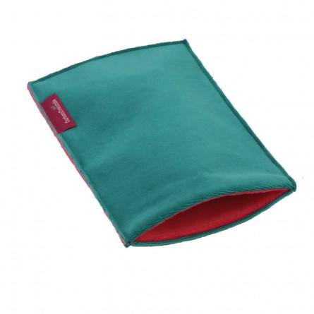 Farbenfreunde E-Reader smaragd/himbeer
