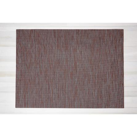 Chilewich Teppich Wabi Sabi dunkelrot/sienna -001 (verschiedene Größen)