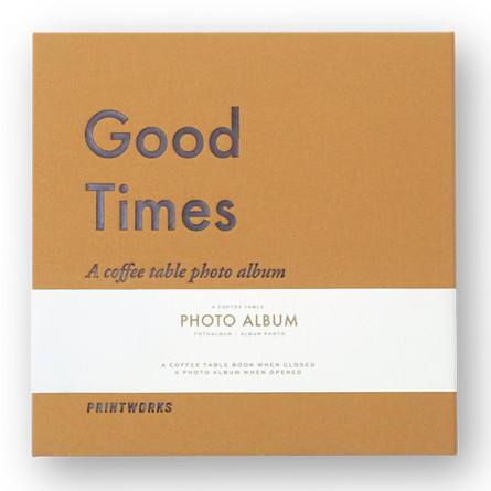"Printworks kleines Coffee Table Photo Album ""Good Times"""