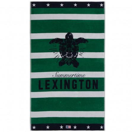 Lexington Strandtuch Graphic Velour Beach Towels Schildkröte (100x180cm)