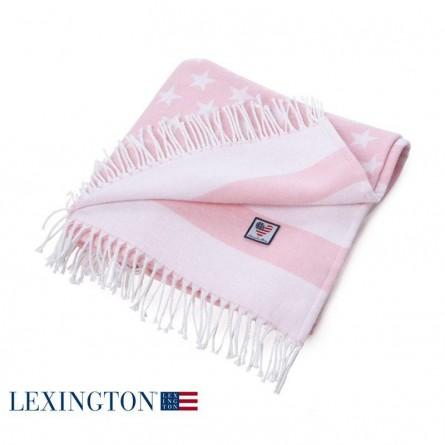 Lexington Baby Flag Throw rosa