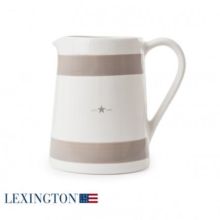 Lexington Milchkrug beige