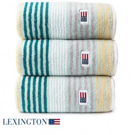 Lexington Handtuch Original Stripe grün