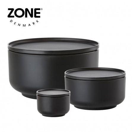 Zone Schale Peili 3er Set black