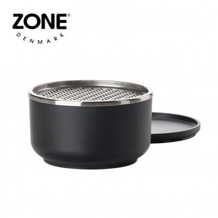 Zone Schale Peili mit Reibe klein black