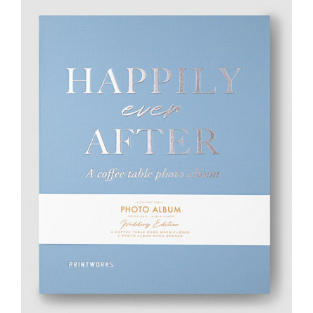 """Printworks Coffee Table Photo Album """"Happily Ever After"""""""