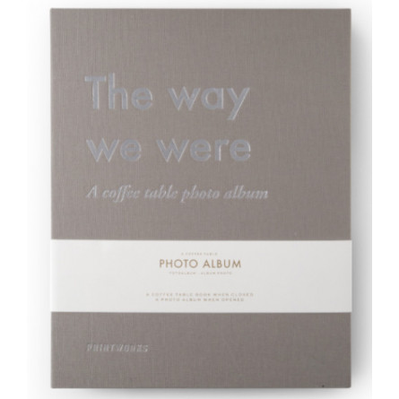 """Printworks Coffee Table Photo Album """"The Way We Were"""""""