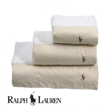 Ralph Lauren Handtuch Oxford beige