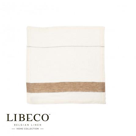 Libeco 6er Pack Leinen Servietten Roccapina atene stripe (45x45cm)