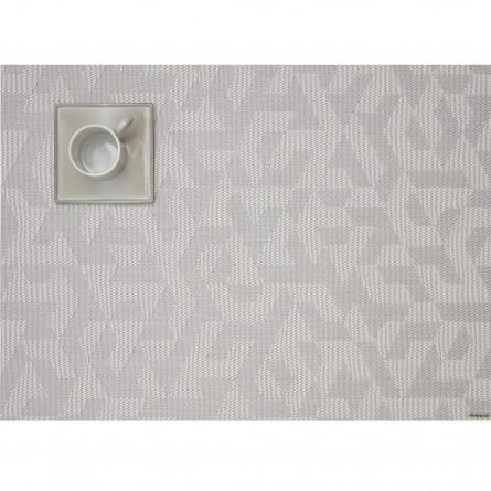 Chilewich Tischset Rechteckig Prism silber -001 (36x48 cm)