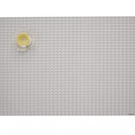 Chilewich Tischset Rechteckig Trellis silber -001 (36x38 cm)