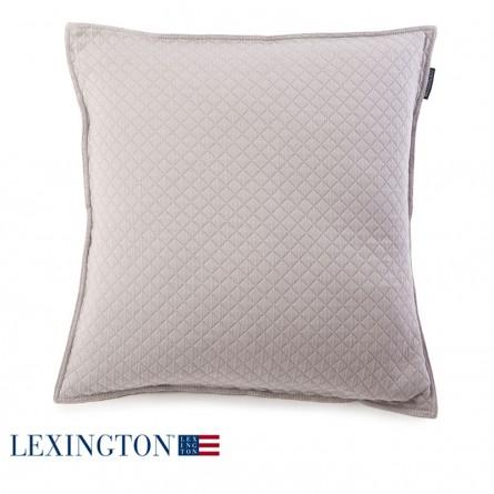 Lexington Dekokissen Washed Diamond grau
