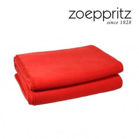 Zoeppritz Soft Fleece Plaid dark chilli