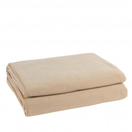 Zoeppritz Plaid Soft-Fleece sand