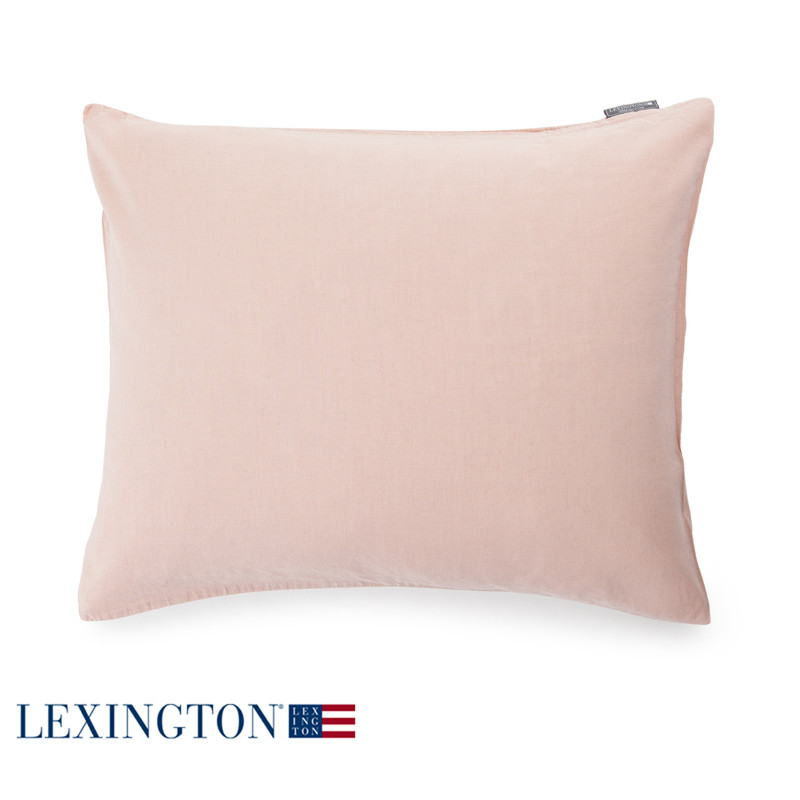 lexington urban baumwoll leinen bettw sche rosa. Black Bedroom Furniture Sets. Home Design Ideas
