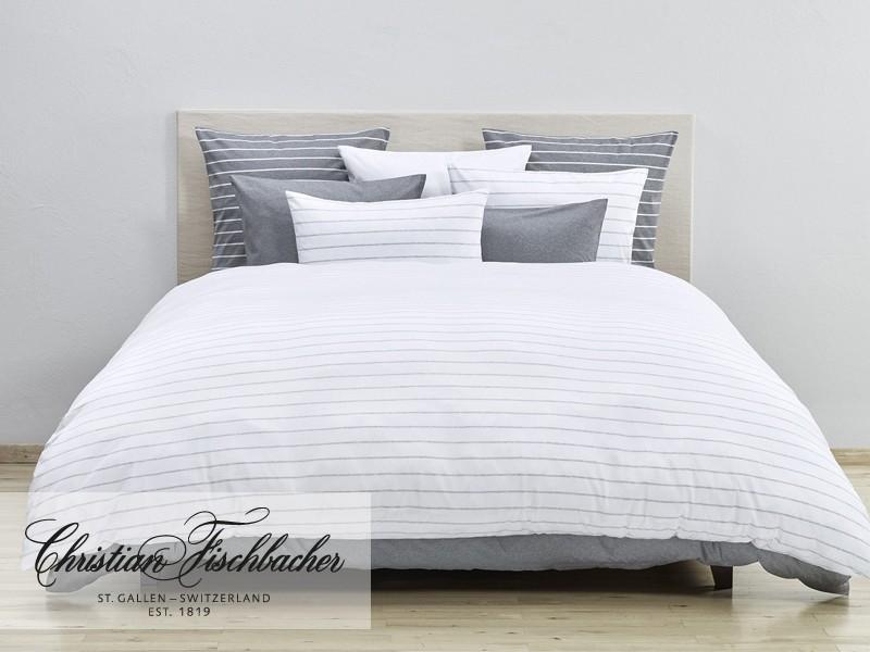 christian fischbacher bettw sche cecile wei jersey. Black Bedroom Furniture Sets. Home Design Ideas