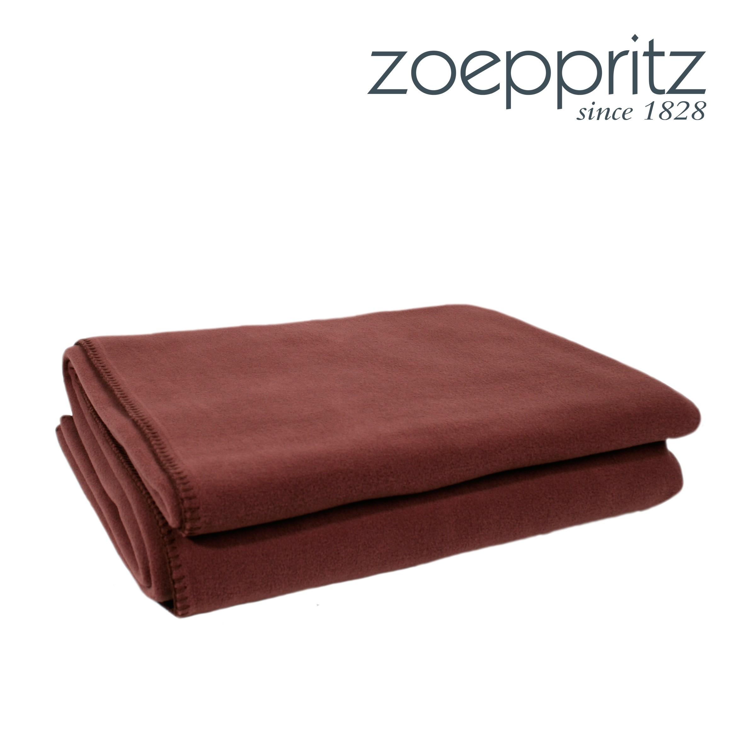 zoeppritz plaid soft fleece chocolate. Black Bedroom Furniture Sets. Home Design Ideas