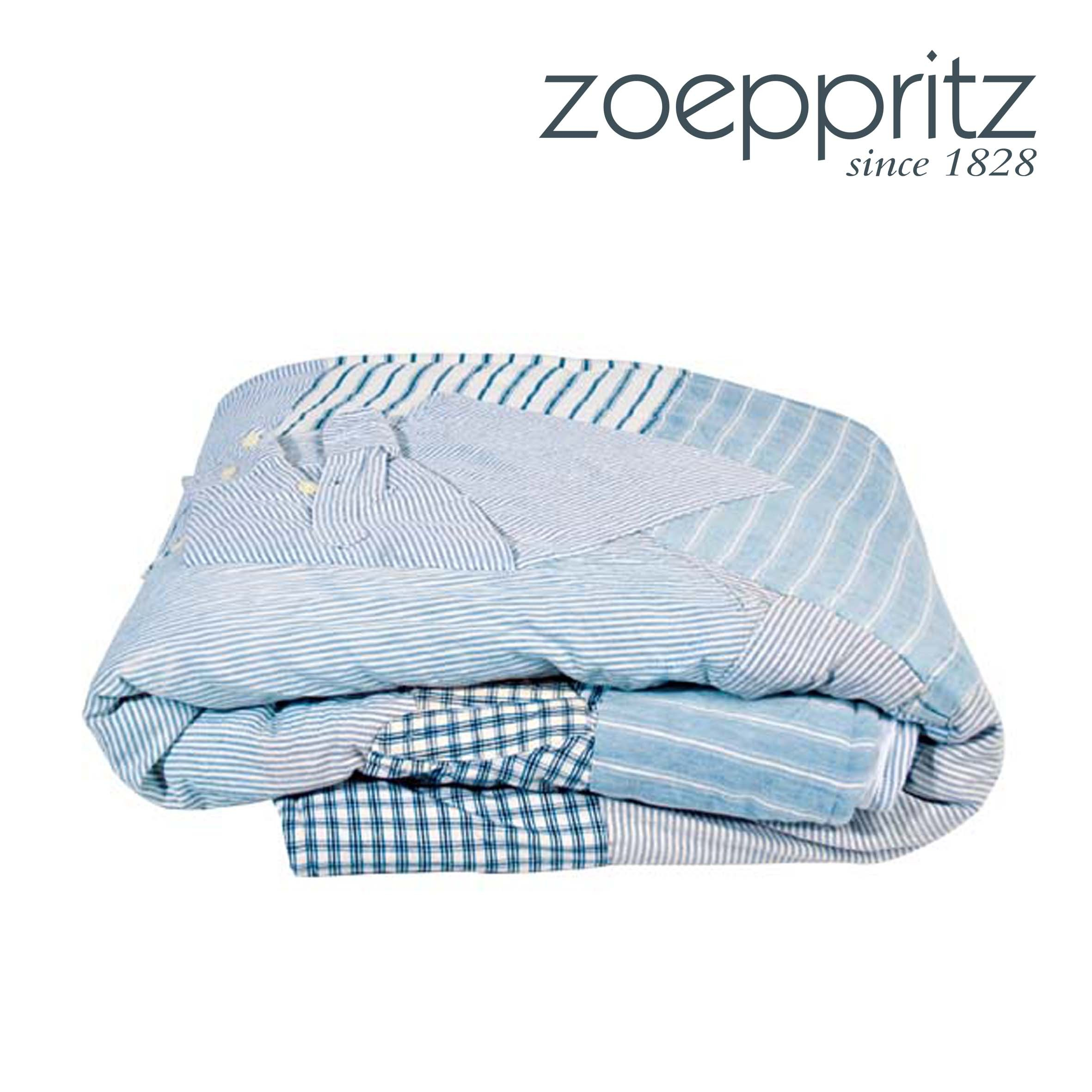 zoeppritz decke shirt blau. Black Bedroom Furniture Sets. Home Design Ideas