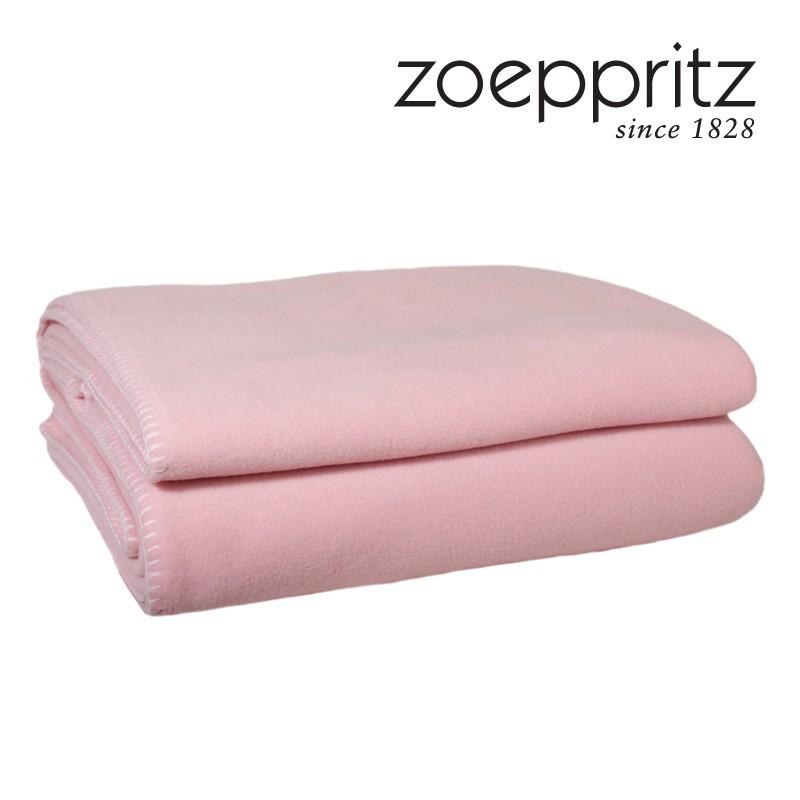 Zoeppritz Soft Fleece Plaid rose