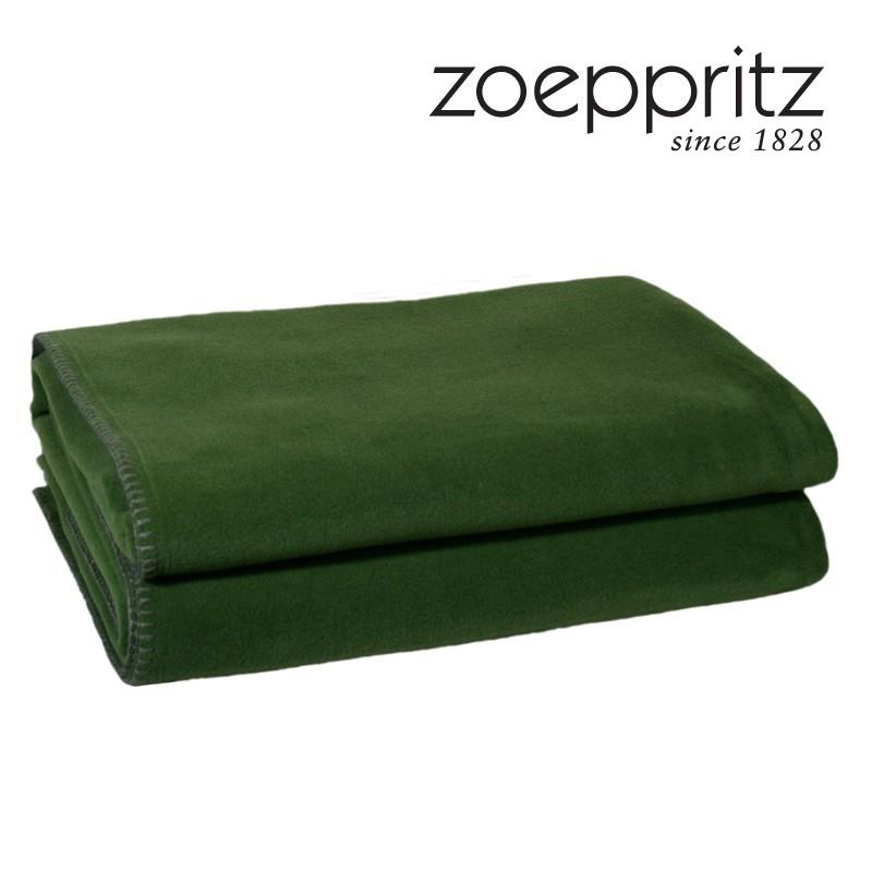 zoeppritz plaid soft fleece smaragd. Black Bedroom Furniture Sets. Home Design Ideas