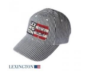 Lexington Baseballcap gestreift