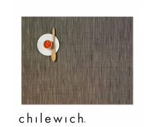 Chilewich Set Rechteckig Bamboo charcoal