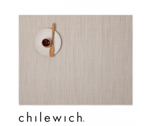 Chilewich Set Rechteckig Bamboo chino