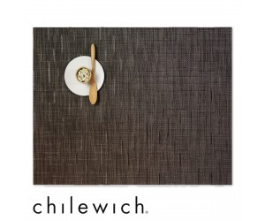 Chilewich Set Rechteckig Bamboo chocolate