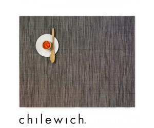 Chilewich Set Rechteckig Bamboo grey flannel