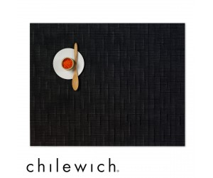 Chilewich Set Rechteckig Bamboo smoke