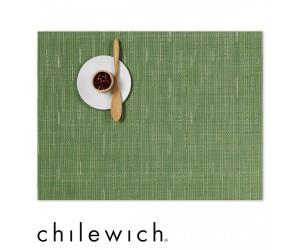 Chilewich Set Rechteckig Bamboo lawn green